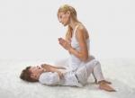 Ouder-KindYoga+ (zorgvragen) bij Kinderyoga de Bloementuin. Een workshop Yoga voor kinderen met zorgvragen samen met hun ouder(s)<br>Kom met elkaar in verbinding door yoga!