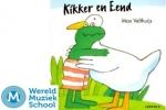De activiteit 'Kikker en Eend - muzikale vertelling' van Bibliotheek Haarlem-Noord wordt u aangeboden door dekleineladder.nl uit Haarlem