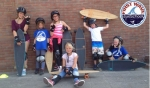 De activiteit 'Longboardskaten' van First Wave Surfschool wordt u aangeboden door dekleineladder.nl uit Haarlem