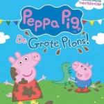 De activiteit 'Pegga Pig - De grote plons (2+)' van Stadsschouwburg Velsen wordt u aangeboden door dekleineladder.nl uit Haarlem