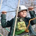 Inloopmiddag bij het Kids klimpark! bij Paintball Spaarnwoude. Kinderen gaan met een eigen instructeur, veiligheids-outfit en een uitleg leuke behendigheidsoefeningen doen, zoals balanceren, klimmen en slingeren.<br><br>(minimaal 10 kinderen)