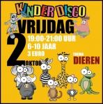 De activiteit 'Kinderdisco (6-10 jaar) Dieren' van Plexat - de Luifel wordt u aangeboden door dekleineladder.nl uit Haarlem