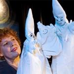 De activiteit 'Spoekie het spookje 3+' van Poppentheater de Zilveren Maan wordt u aangeboden door dekleineladder.nl uit Haarlem