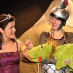 De activiteit 'De prinses, de ridder en het draakje' van Kindertheater 'De toverknol' wordt u aangeboden door dekleineladder.nl uit Haarlem