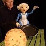 De activiteit 'Een grote, dikke pannenkoek' van Poppentheater Hans Schoen wordt u aangeboden door dekleineladder.nl uit Haarlem