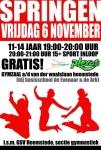 De activiteit 'Trampoline springen' van Plexat - Zaal v/d Waalslaan wordt u aangeboden door dekleineladder.nl uit Haarlem