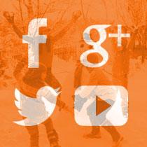 Volg dekleineladder.nl op Facebook, Google+, Twitter en Youtube