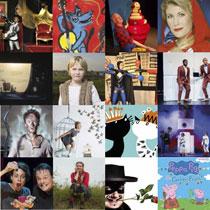 De kindervoorstellingen spelen de aankomende weken in de theaters in en rond Haarlem