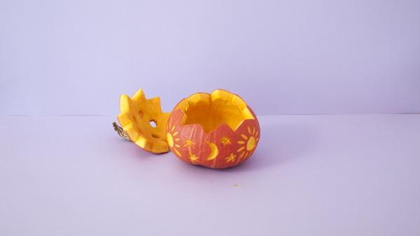 Hoe Maak Je Halloween Pompoenen.Maak Een Lampion Van Een Pompoen Knutselen Thuis Met