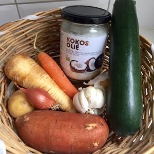 Wat heb je nodig voor deze heerlijke gezonde groentensoep die goed gegeten wordt door kinderen?