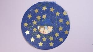 Wanneer je voor de methode kiest van de 24 sterren maf het plaatje van Jezus natuurlijk ook te voor schijn komen