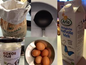 Wat heb je nodig om samen met je kinderen pannenkoeken te bakken, zo doen we het in het bonte huis in Haarelm