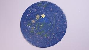 De zelfgemaakte kalender is af, en de sterren mogen gaan reizen