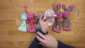 Je kunt natuurlijk verschillende soorten sokpopjes maken, bekijk het filmpje voor meer inspiratie