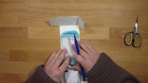 knutselen kan met elk budget, pak gewoon een verpakking