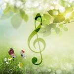 In de lente zie je de natuur om je heen en in je zelf weer tot bloei komen, lekker liedjes zingen terwijl je op de fiets naar de pichnick rijdt.