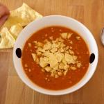Paprikasoep met chips